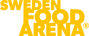 Gul logotyp - Sweden Food Arena
